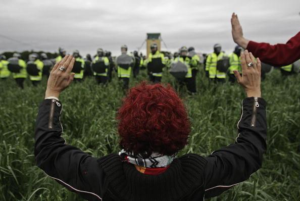 Focus On Foreground「Disturbances Continue To Erupt Around Gleneagles G8 Summit」:写真・画像(14)[壁紙.com]