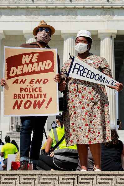 Social Justice - Concept「Commitment March To Protest Police Brutality」:写真・画像(19)[壁紙.com]