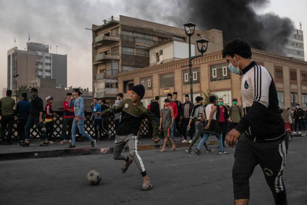 Iraqis Continue Anti-government Protests:ニュース(壁紙.com)