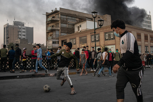 Iraq「Iraqis Continue Anti-government Protests」:写真・画像(16)[壁紙.com]