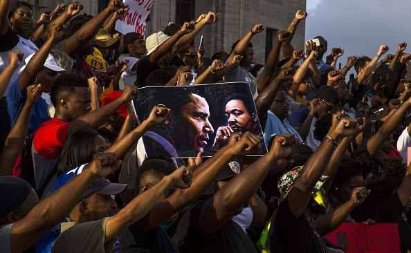Protest「Protests Continue In Baton Rouge After Police Shooting Death Of Alton Sterling」:写真・画像(12)[壁紙.com]