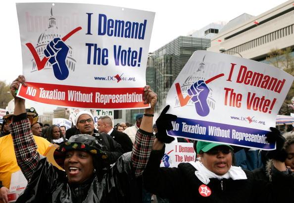アメリカ合州国「DC Residents March For Voting Rights」:写真・画像(9)[壁紙.com]