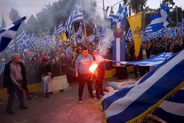 Athens - Greece「Greeks Protest Against Macedonia Name Change」:写真・画像(15)[壁紙.com]