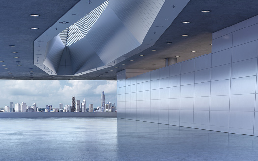 Parking Lot「Modern showroom background stage」:スマホ壁紙(0)
