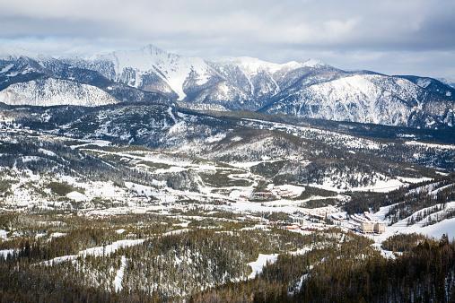 Ski Resort「Big Sky Resort the largest ski resort in the United States by acreage located in Big Sky, Montana.」:スマホ壁紙(14)