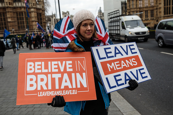 2016 European Union Referendum「MPs Vote On Theresa May's Brexit Deal」:写真・画像(19)[壁紙.com]