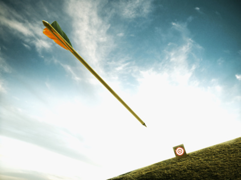 Sports Target「Arrow shot at target」:スマホ壁紙(8)