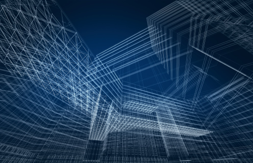 Housing Project「3D architecture abstract」:スマホ壁紙(5)