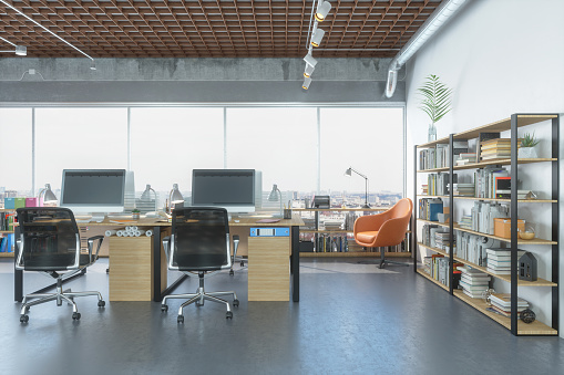 Studio - Workplace「Architecture or engineering office」:スマホ壁紙(18)
