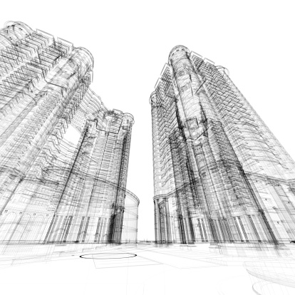 Engineer「Architecture Sketch」:スマホ壁紙(3)