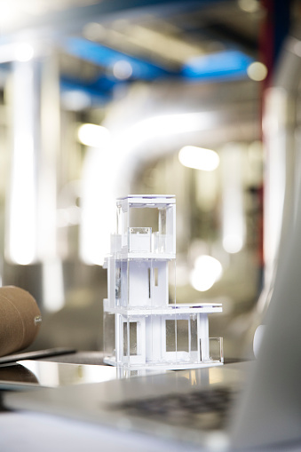 Home Automation「Architectural model in industrial plant」:スマホ壁紙(1)