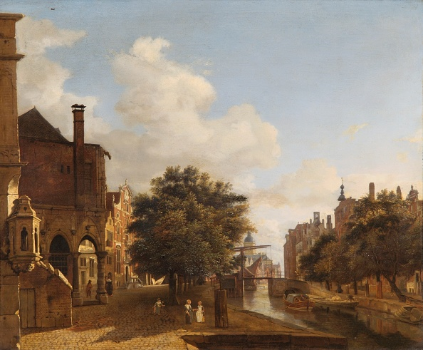Painting - Activity「Architectural Fantasy With The Old Town Hall,」:写真・画像(6)[壁紙.com]