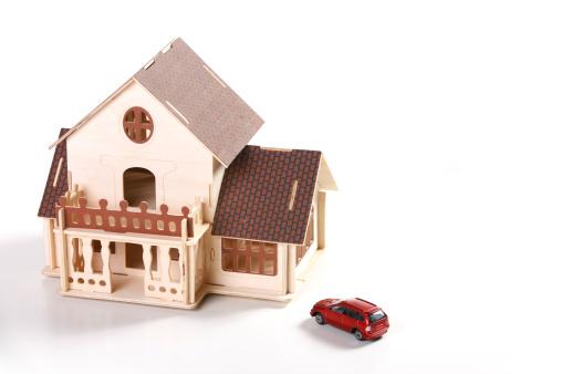 Effort「Architectural model and car model」:スマホ壁紙(17)
