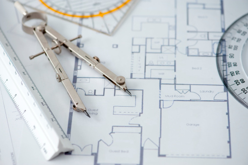 Housing Project「Architecture blueprints」:スマホ壁紙(10)