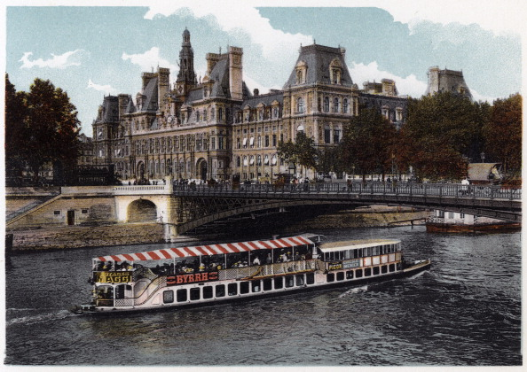 Tourboat「Hotel de Ville, Paris, c1900.」:写真・画像(8)[壁紙.com]