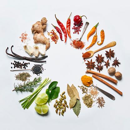 Ginger - Spice「Spice colour wheel」:スマホ壁紙(9)