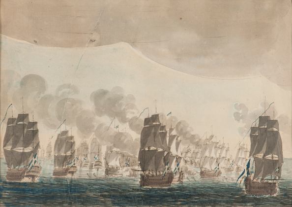 Russian Military「The Naval Battle Of Öland On 26 July 1789 Creator: Cumelin」:写真・画像(3)[壁紙.com]