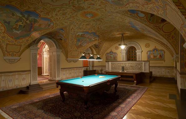 Ceiling「Billiard Room, King's Palace, Belgrade, Serbia」:写真・画像(3)[壁紙.com]