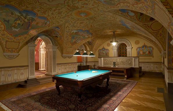 Ceiling「Billiard room, Kings Palace, Belgrade, Serbia」:写真・画像(6)[壁紙.com]