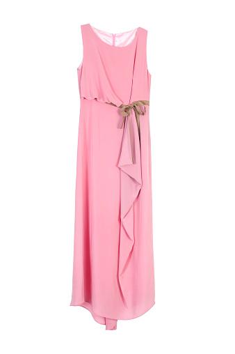 ドレス「ピンク色のドレス」:スマホ壁紙(12)