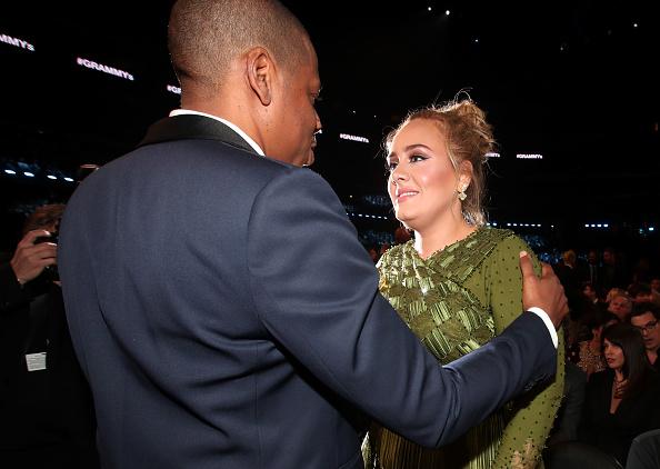 Adele - Singer「The 59th GRAMMY Awards - Roaming Show」:写真・画像(6)[壁紙.com]