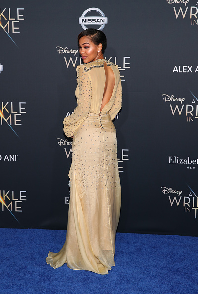 "A Wrinkle in Time「Premiere Of Disney's ""A Wrinkle In Time"" - Arrivals」:写真・画像(1)[壁紙.com]"