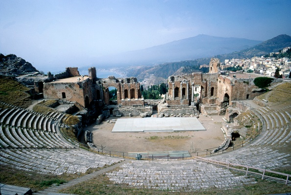 Amphitheater「Greekgreek Ampitheatre」:写真・画像(6)[壁紙.com]