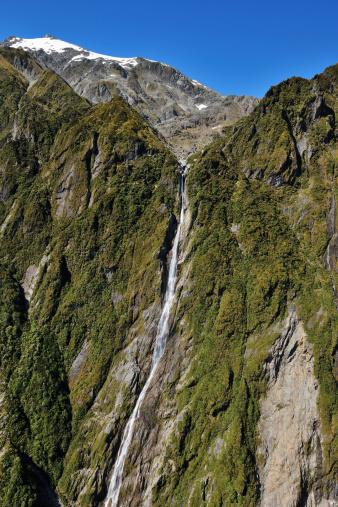 Westland - South Island New Zealand「Waterfall」:スマホ壁紙(3)
