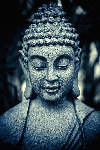 Buddha statue「ストーンの仏像」:スマホ壁紙(7)