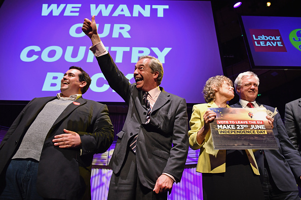 """MEP「Nigel Farage And Kate Hoey Hold Public """"We Want Our Country Back"""" Meeting」:写真・画像(3)[壁紙.com]"""