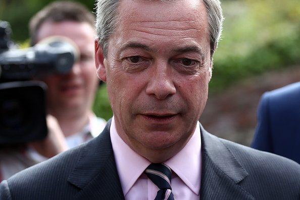 Politics and Government「Nigel Farage Attends His Constituency Declaration」:写真・画像(11)[壁紙.com]