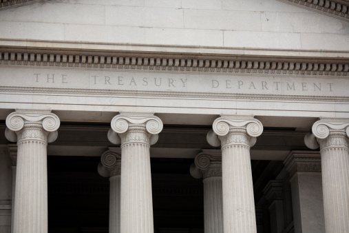 Banking「US Treasury Building, Washington DC」:スマホ壁紙(15)