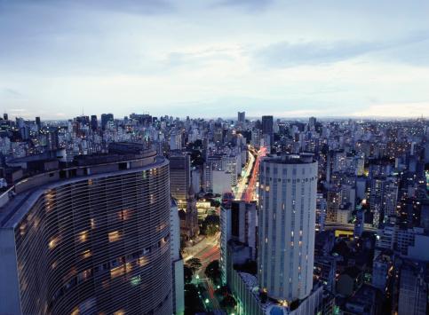 Urban Skyline「Sao Paulo city, Brazil」:スマホ壁紙(3)