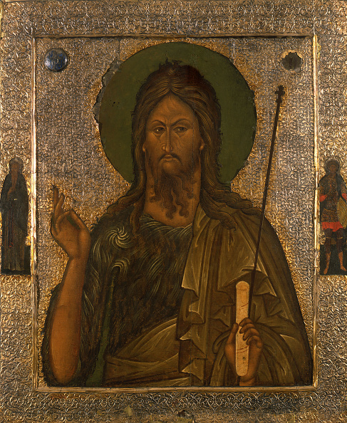 Painting - Activity「Saint John The Forerunner With Saint John Climacus And Saint Theodore Stratelates」:写真・画像(16)[壁紙.com]