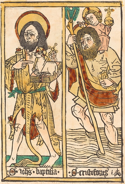 Animal Body Part「Saint John The Baptist And Saint Christopher」:写真・画像(19)[壁紙.com]