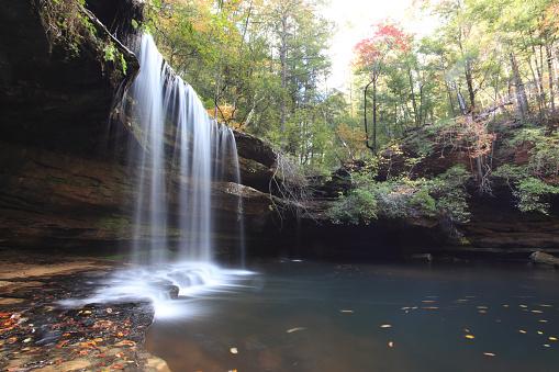 Southern USA「Caney Falls, Alabama」:スマホ壁紙(1)