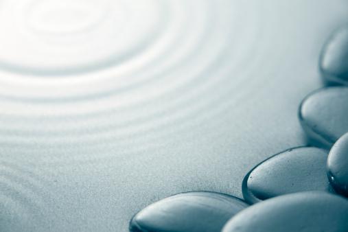 Feng Shui「Zen ripples background」:スマホ壁紙(3)