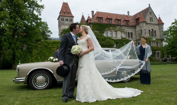 Bride「Wedding Of Count Anton Andreas von Faber-Castell & Kate Stahl」:写真・画像(4)[壁紙.com]