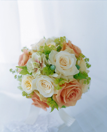Bouquet「Round bouquet of rose and spray carnation」:スマホ壁紙(13)