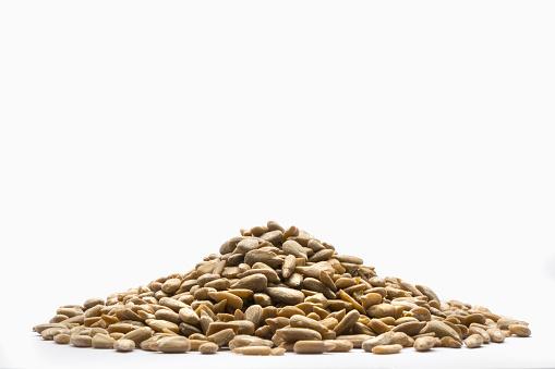 ひまわり「Pile of sunflower seeds」:スマホ壁紙(7)