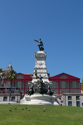 World Heritage「Statue in Porto」:スマホ壁紙(7)