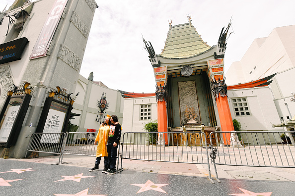 Hollywood - California「TCL Chinese Theatre Celebrates 93rd Birthday」:写真・画像(13)[壁紙.com]