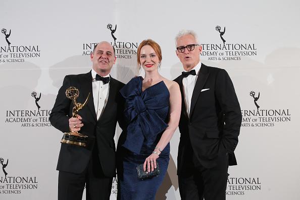 International Emmy Awards「2014  International Academy Of Television Arts & Sciences Awards - Press Room」:写真・画像(2)[壁紙.com]