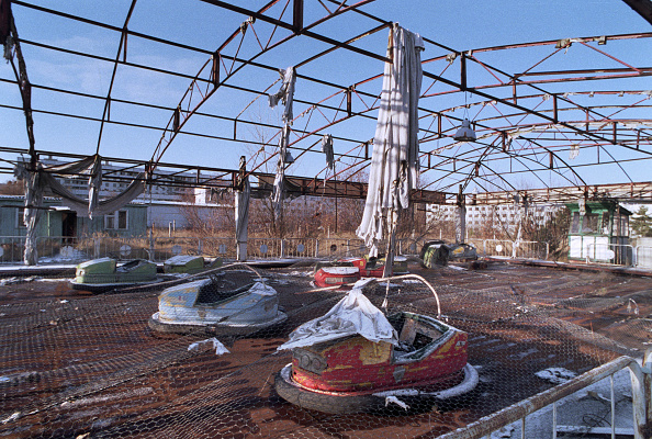 Amusement Park Ride「Abandoned Fun Fair Pripyat, Chernobyl」:写真・画像(17)[壁紙.com]