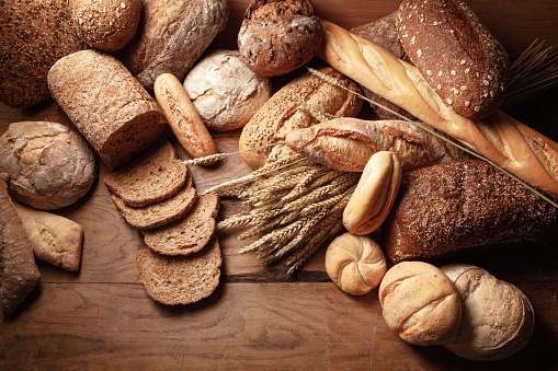 Collection「Bread: Bread Variety Still Life」:スマホ壁紙(12)