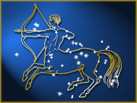 Animal Representation「Sagittarius astrological sign」:スマホ壁紙(13)