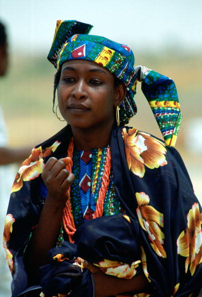Hoop Earring「Nigerian Woman, Nigeria」:写真・画像(17)[壁紙.com]
