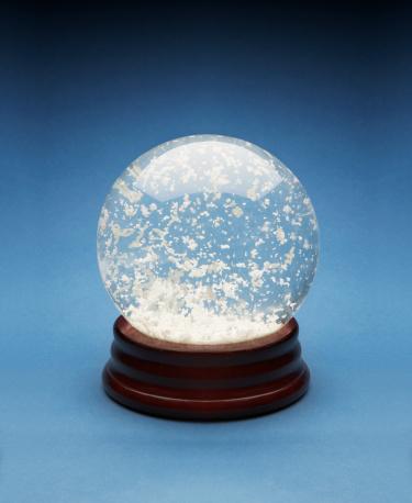 スノードーム「Snow globe」:スマホ壁紙(3)