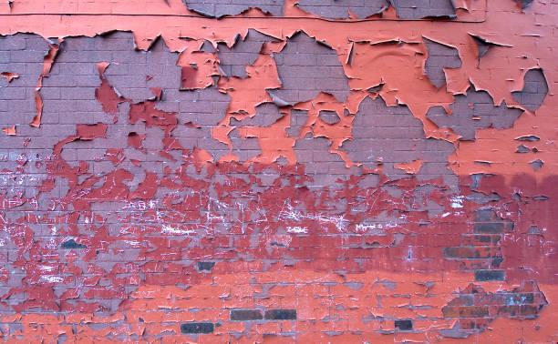 Detail of paint peeling of a brick wall:ニュース(壁紙.com)
