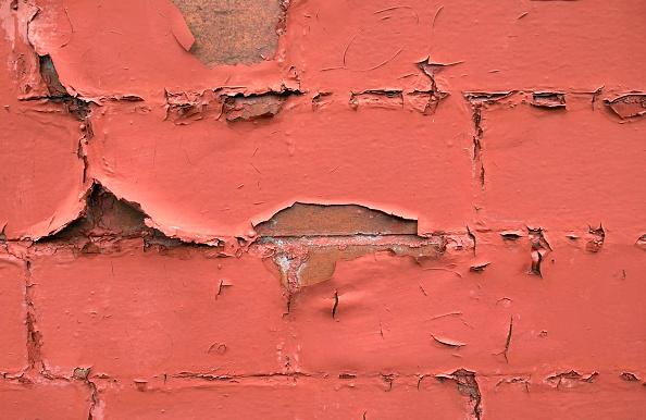 Brick Wall「Detail of paint peeling of a brick wall」:写真・画像(14)[壁紙.com]
